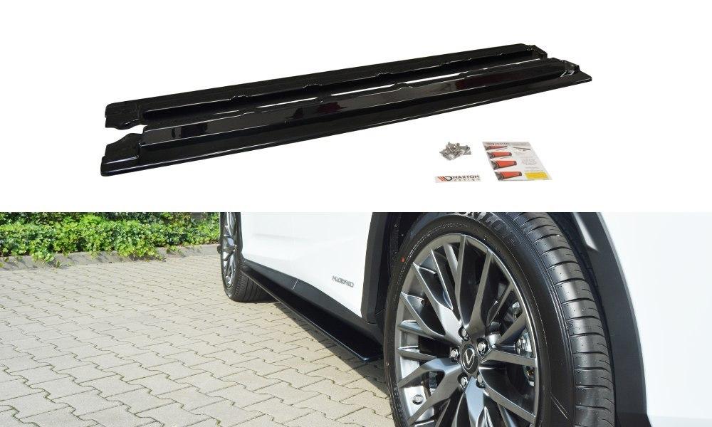 Dokładki Progów Lexus RX Mk4 - GRUBYGARAGE - Sklep Tuningowy